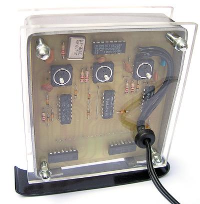 Binary LED Clock. Schematy, wzory płytek, działanie.