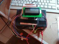 Kontroler Ogniwo fotowoltaiczne z zapisem na stronie WWW