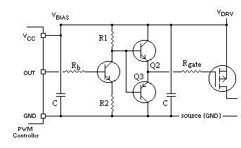 Driver TTL -> P-MOSFET