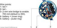 ATmega + diody mocy 3w i 5W