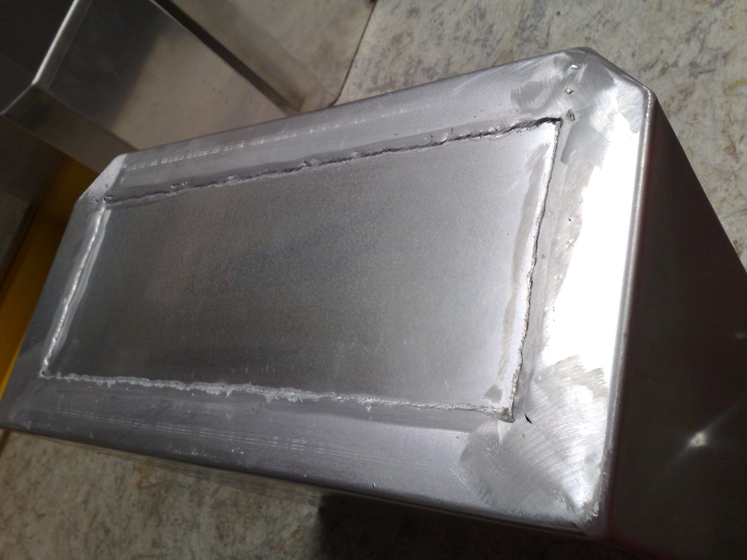 Spawarka do blachy aluminiowej 2mm 1050A