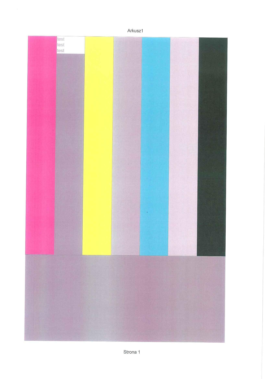HP Color LaserJet 3600 - nieprawid�owe kolory