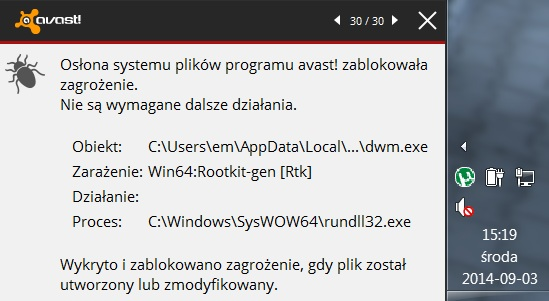 WIN64:rootkit-gen [RTK] WINDOWS 7 SP1