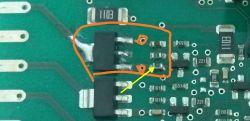 Zmywarka Bosch SPV43M10EU/14 - naprawa płytki sterującej zaworem