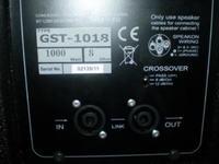 [Sprzedam] Sprzedam lub zamieni� Kolumna LDM GST-1018B Subbas pasywny