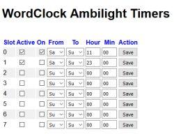 Zegar tekstowy na procesorze STM32