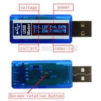 Miernik mocy pobieranej przez urządzenia USB.