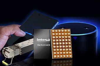 Nowe, zintegrowane moduły PMIC od Intersila