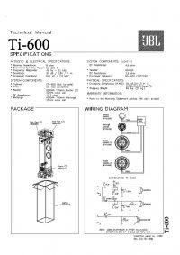 Wymiana glosnikow Jbl Ti 600