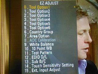 Szukam instrukcji obsługi TV lg 42lw5500 - menu serwisowe
