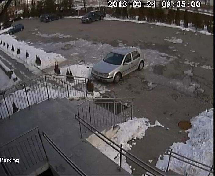 monitoring - monitoring samochodu przed domem