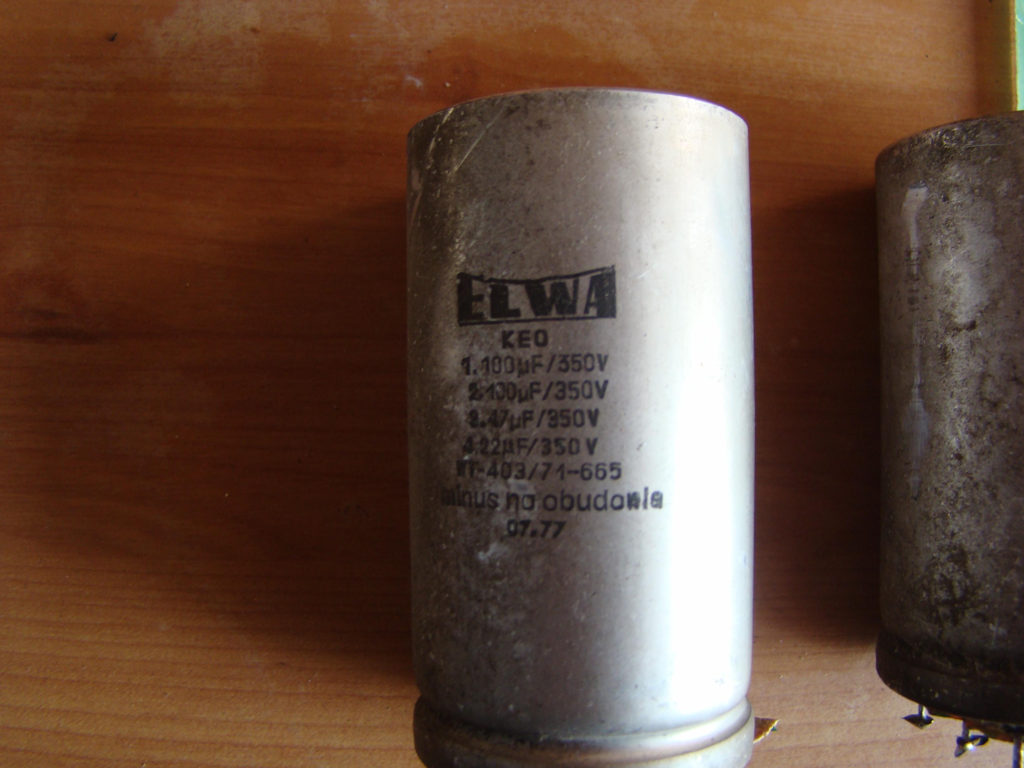 [Sprzedam] Sprzedam elementy z urz�dzenia lampowego. Radio VEF 206 i Trafo WN