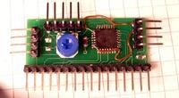 Prosta płytka do sterowania wyświetlaczami alfanumerycznymi LCD