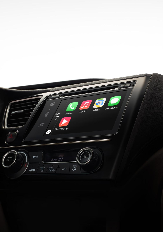 Apple CarPlay - integracja iPhone w samochodach Ferrari i 17 innych marek