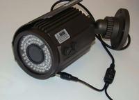 Schludne mocowanie kamery CCTV do elewacji z możliwością odłączenia