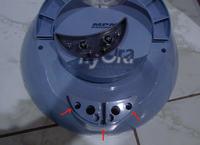 Odkurzacz MPM MOD-03 HYDRA - demontaż