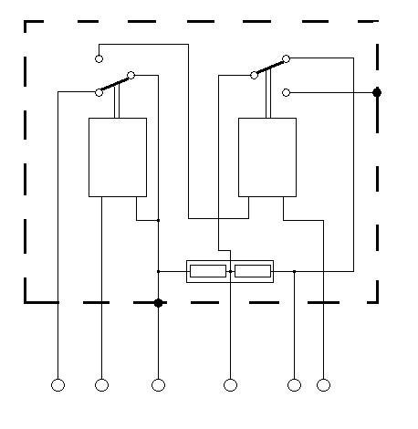 Schemat podłączenia regulatora RLB-2C
