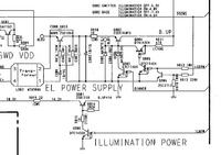 Pioneer DEH 535R spalone 3 elementy