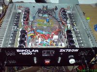 Końcówka mocy 2x750W po taniości na elementach dyskretnych