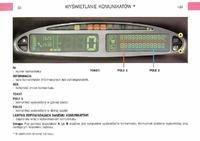 Citroen Xsara Picasso 2.0 HDi - Komunikaty komputera pok�adowego