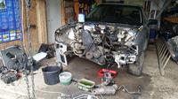 Audi 80 B4 sedan - Swap 1.8t AEB z Audi A6C5 do 80B4 razem z całą instalacją
