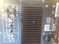 M-audio 150 Sub - Uszkodzony wzmacniacz subwoofera - panel 2sc5200 2sa1943