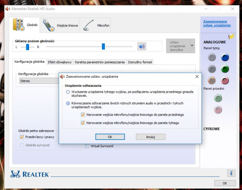 Menedżer Realtek Hd Audio