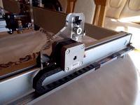 Ploter laserowy do wypalania, grawerowania na drewnie, sklejce itp.