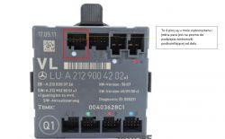schemat A2129004202 w204 Merc - Mercesdes W204 asystent martwego pola-schemat/ p