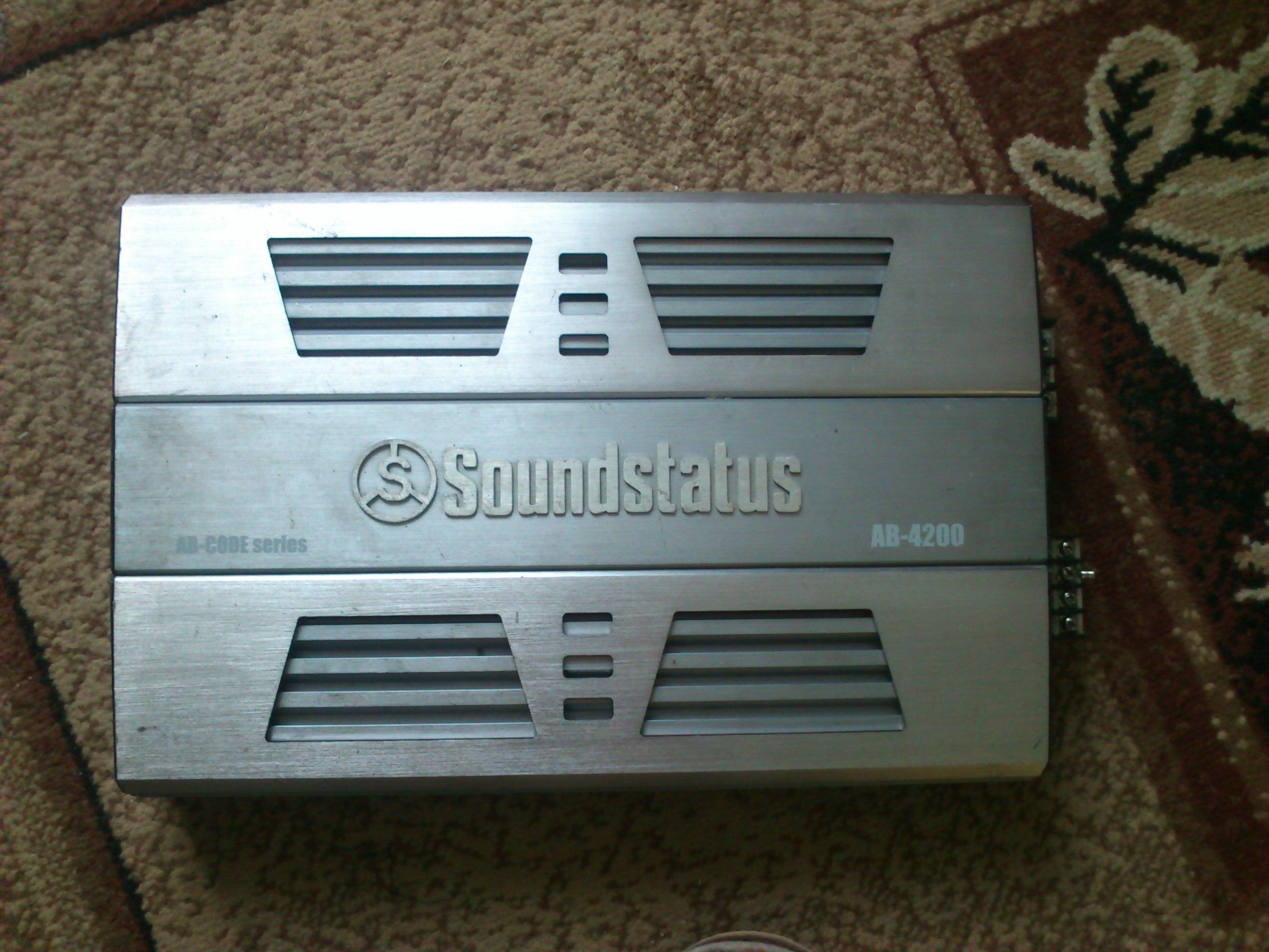 Soundstatus ab4200 - Wzmacniacz sie nie w��cza