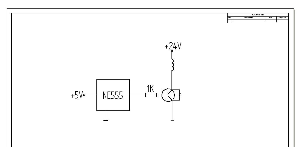 Sterowanie elektrozaworu tranzystorem NPN z regulacj� PWM