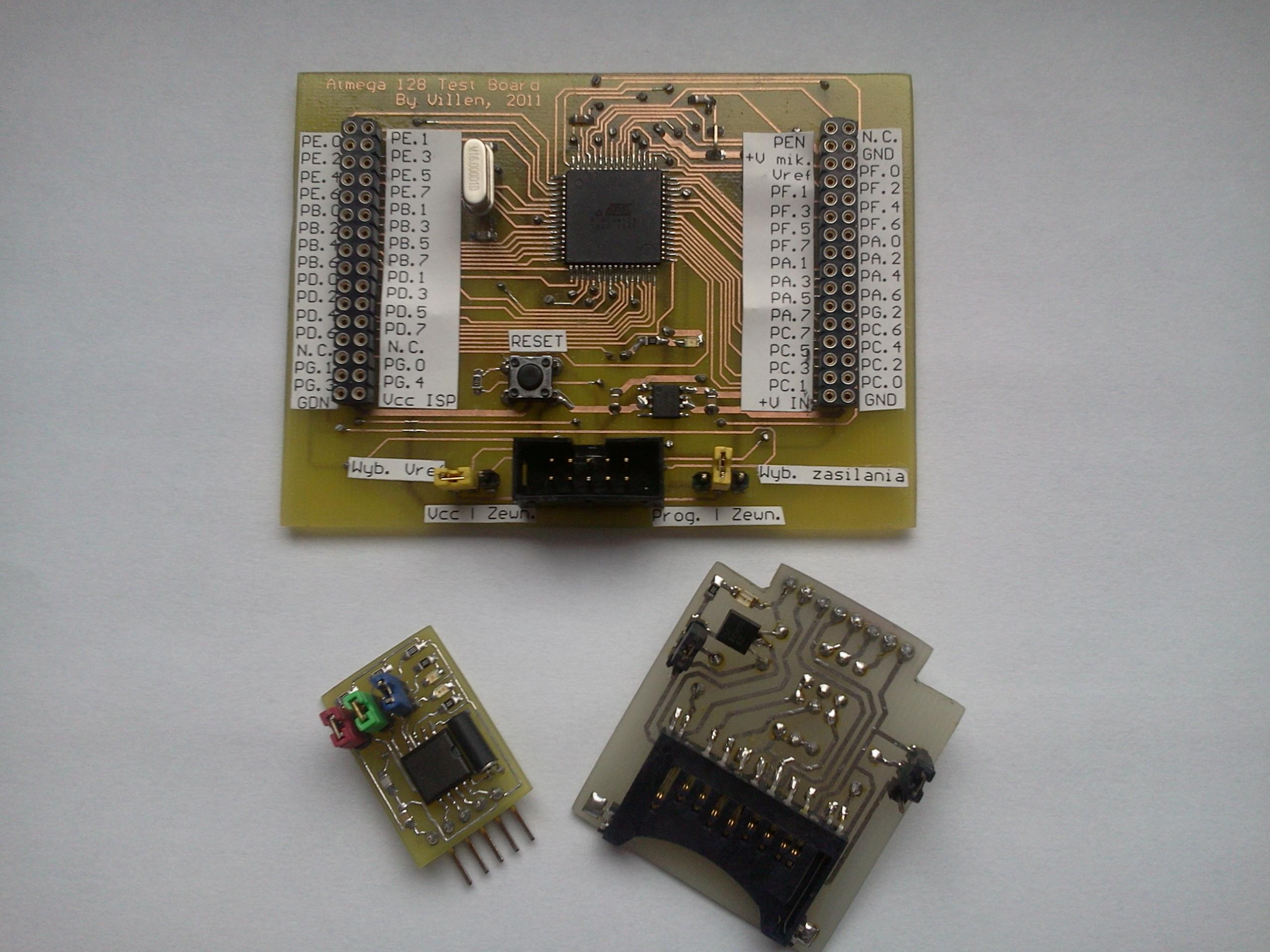 Kilka przydatnych modu��w do ��czenia uk�ad�w testowych.
