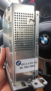 BMW Becker CD54 Professional - Nie widzi zmieniarki, nie działa AUX