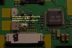 Panasonic LC-1 - Brak reakcji na włącznik zasilania