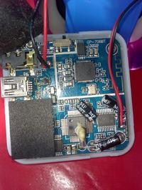 JAY-tech mini bass cube (bluetooth) nie działa, dioda świeci