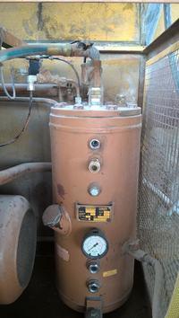 kaser AS 35 - Olej w filtrze powietrza. Brak schematu elektrycznego