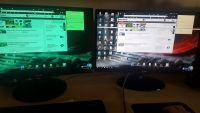 LG23EA63 x2 / ASUS Radeon R9 - złe wyświetlanie kolorów / paski na ekranie
