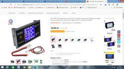Digital panel meter - Voltmeter / Ammeter - made in China.