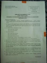 Egzamin Zawodowy Technik Elektronik Czerwiec 2013