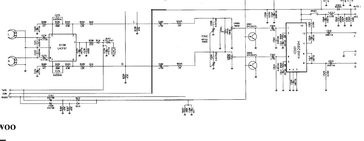 Daewoo AKF7333 Dodatkowe wej�cie audio