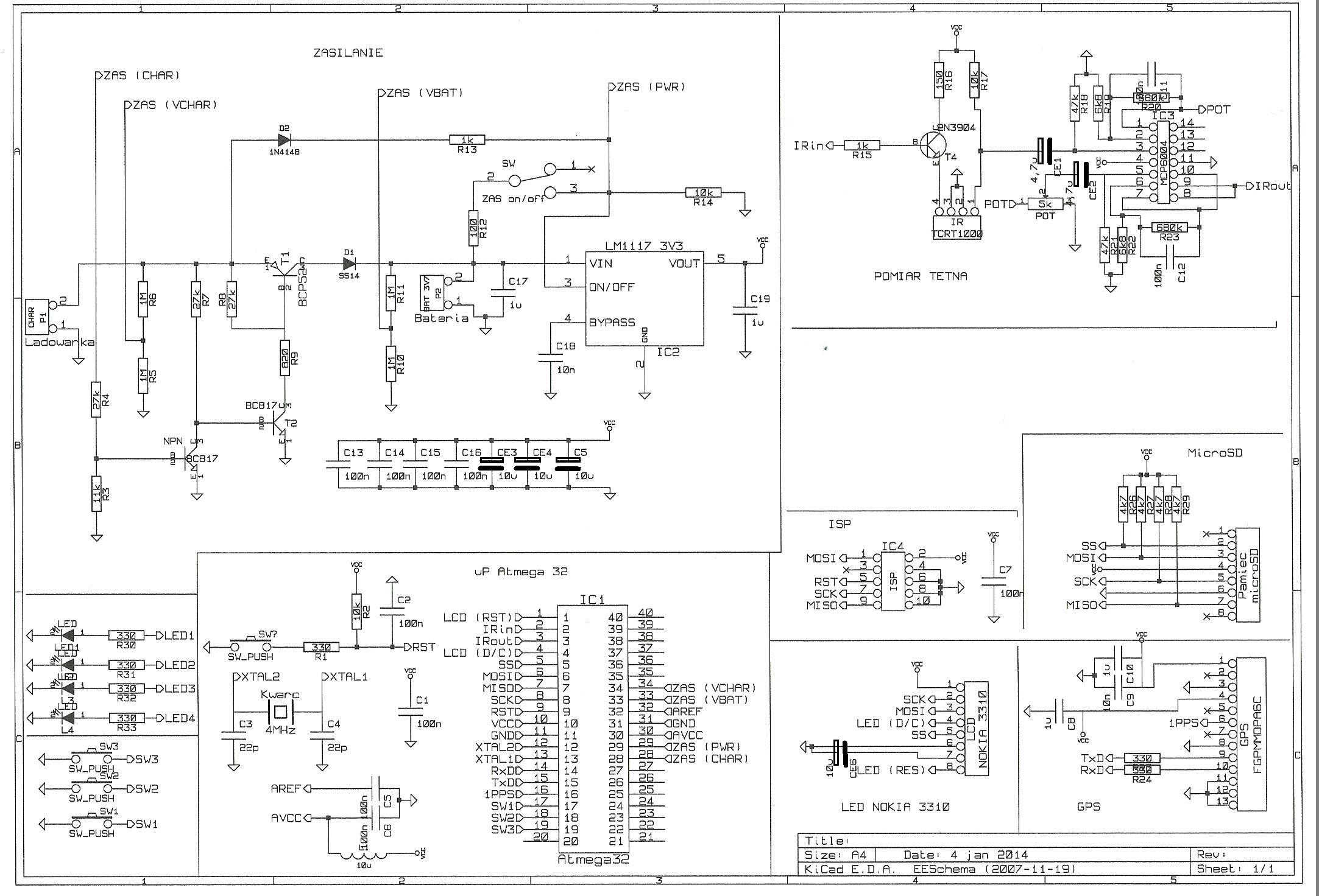AVR - AVR + pomiar t�tna  (+ GPS + LCD + karta SD)
