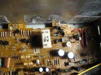JVC AX-555BK - Spalone końcówki mocy
