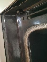 Piekarnik Electrolux EOC6800X - uszkodzona blokada drzwiczek?