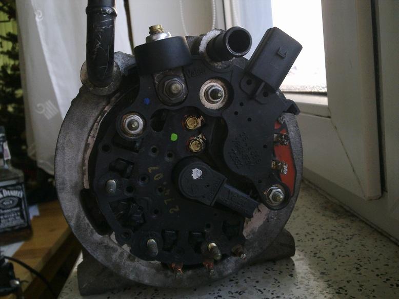 Brak �adowania w MB Vaneo 1.7 cdi automat po pomy�ce z odpalaniem na kable