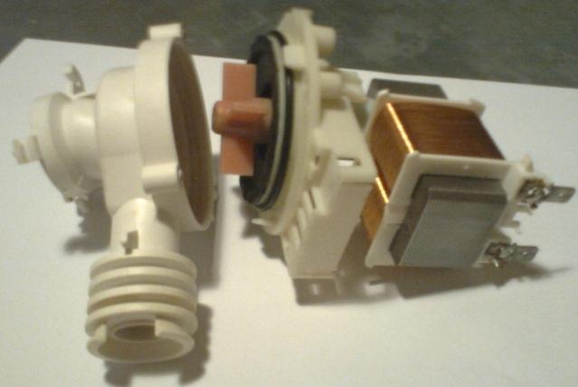 Pompa wody od pralki. Jaki to silnik?
