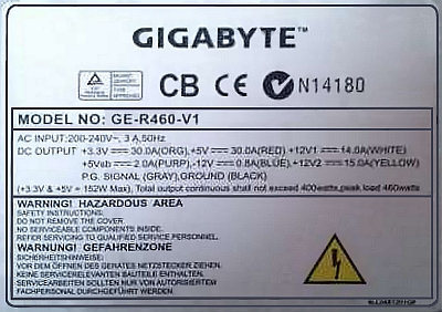 Gigabyte model: GE-R460-V1 - Zamiana uk�adu scalonego CM6800 na inny uk�ad?