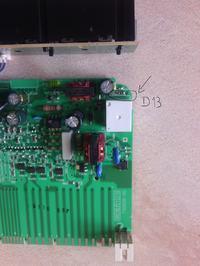 esl66010 - nie grzeje, wymieniony przekaźnik, podejrzana dioda?