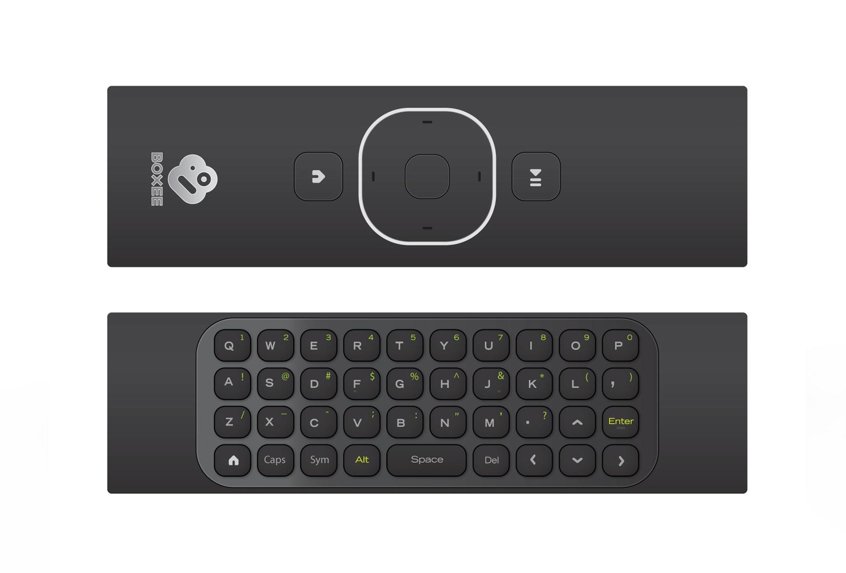 Bezprzewodowy pilot/klawiatura Boxee od D-Linka dla komputer�w Mac i Windows