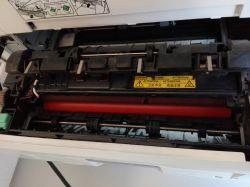 Kyocera FS-3040MFP plus plamy na wydruku