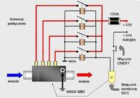 Podgrzewacz p�ynu ch�odz�cego 12V - jak zrobi� w��czanie od obrot�w